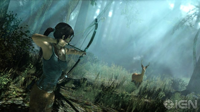 The key to the new game is having Lara overcome emotional and physical obstacles, says Hughes. Picture: IGN