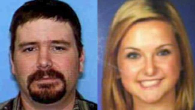 This combination of undated photos provided by the San Diego Sheriff's Department shows James Lee DiMaggio, 40, left, and Hannah Anderson, 16. AP Photo/San Diego Sheriff's Department
