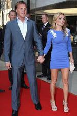 <p>Celebrity breakups ... After two years of dating Geri Halliwell split with posh  English socialite Henry Beckwith in early August 2011. Picture: Chris Jackson/Getty Images</p>