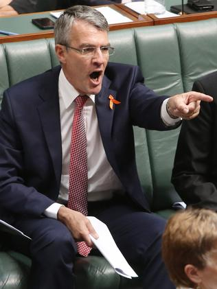 Mark Dreyfus objects to Mr Abbott's comments. Picture: Gary Ramage