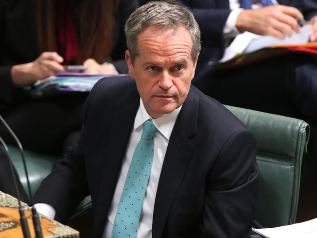 Howard labelled Opposition Leader Bill Shorten as 'out of touch with middle Australia'. Picture: Kym Smith