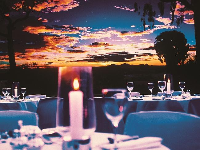 The Sounds of Silence dinner, which includes sunset views over Uluru.