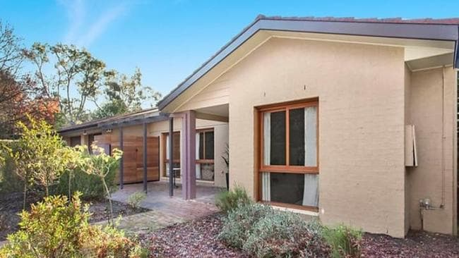 There were three bidders for 1 Tate St, O'Connor in the ACT. Picture: realestate.com.au