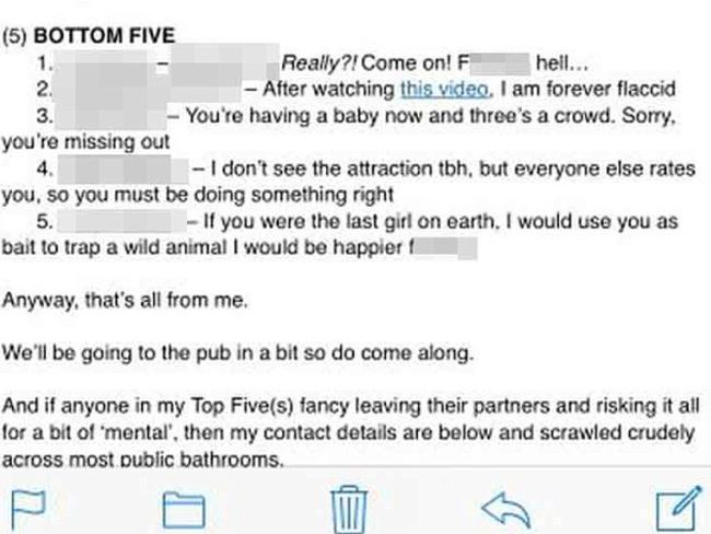 Paul Martin's email has gone viral.