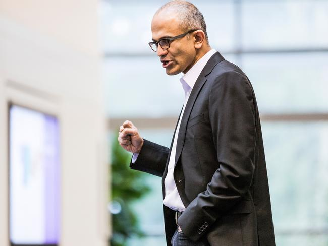 Satya Nadella replaced Ballmer as chief executive earlier this year.