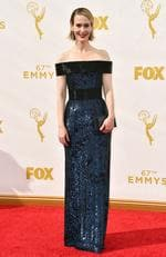 Sarah Paulson attends the 67th Annual Primetime Emmy Awards in Los Angeles. Picture: Getty