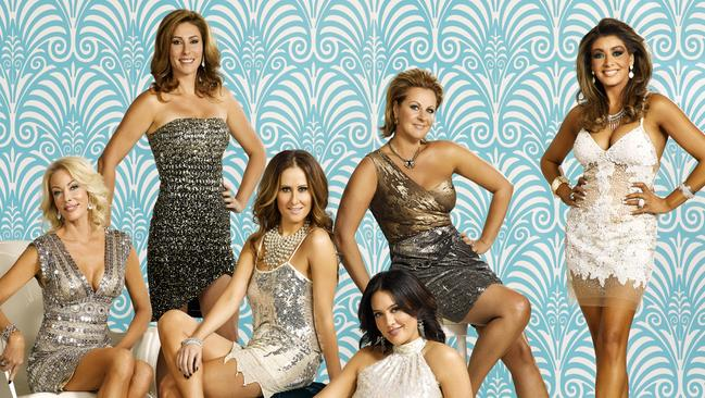 Breaking through ... The Real Housewives of Melbourne is the only Aussie reality show to have real buzz this year.