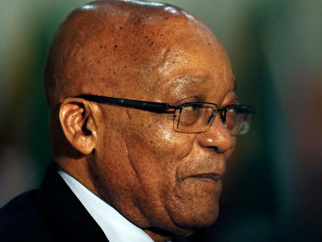 South African President Jacob Zuma has denied inciting violence against white farmers in the country. Picture: Phill Magakoe / AFP
