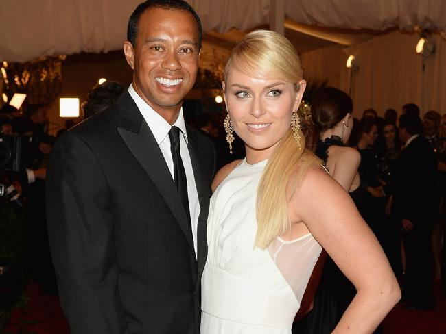 Woods and Vonn in happier times.