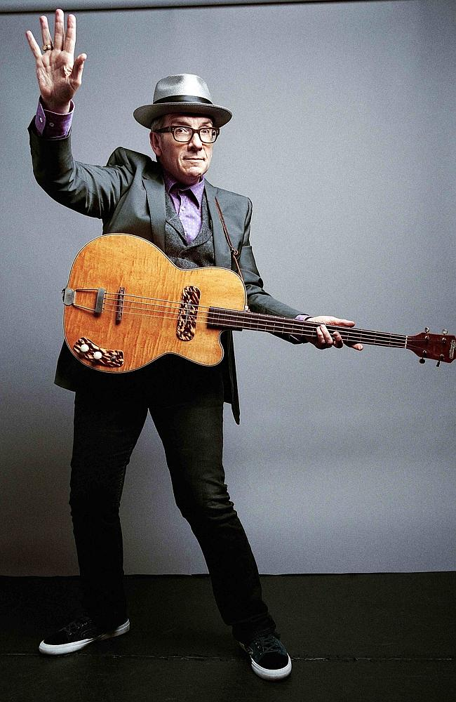 Full marks for honesty ... Elvis Costello had to can an Adelaide concert due to poor ticket sales.