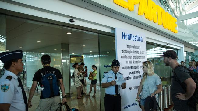 Implementing the visa exemption for Australian travellers in Bali is proving a bit hit and miss. Picture: Agung Parameswara/Getty
