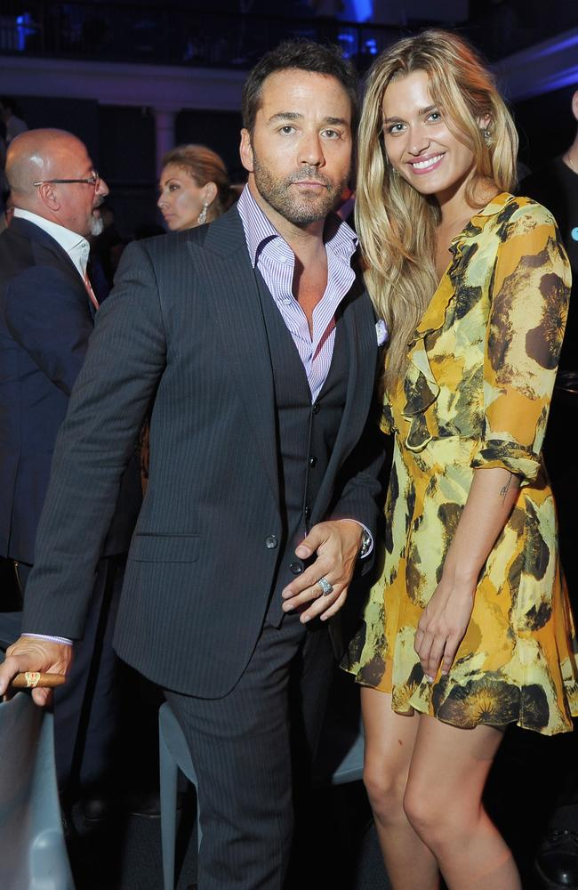 Jeremy Piven and model Cheyenne Tozzi at an  <i>Entourage</i> premiere after party in 2011.