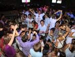 <p>Schoolies enjoy themselves at Cheeky Monkeys nightclub in Byron Bay.</p>