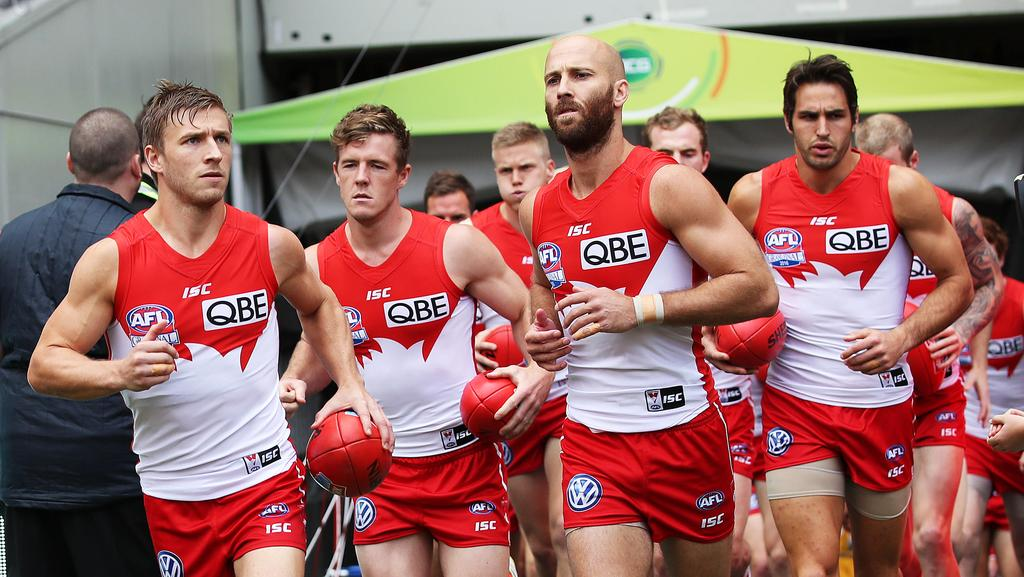 Kieren Jack and Jarrad McVeigh are playing valuable roles for the Swans. Photo: Phil Hillyard