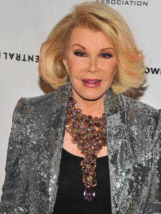 Joan Rivers, who is Jewish herself, said she uses humour to remind people of the Holocaust.