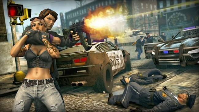 Saints Row lets users beat up prostitutes with sex toys, along with robbing people for money before killing them.