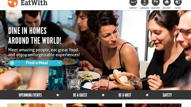 The EatWith website.