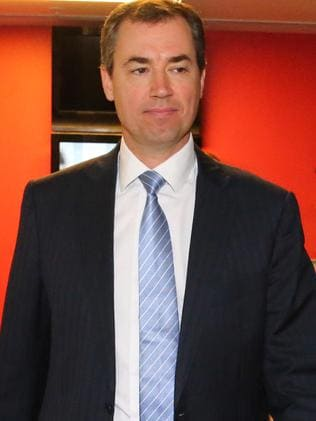 Federal Justice Minister Michael Keenan.