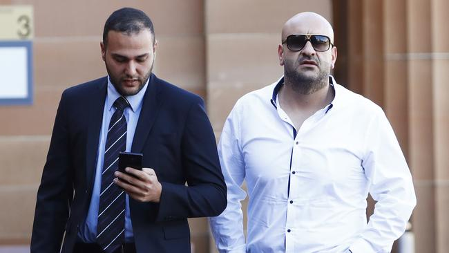 William Siryani (right) has been jailed. Picture: AAP /Daniel Munoz