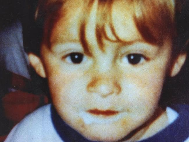 Two-year-old murder victim James Bulger. Picture: File