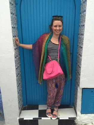 Alana loved her experiences in Morocco. Photo: Supplied