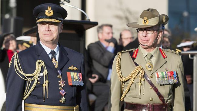 New role ... Air Chief Marshal Binskin took on the force's top job from General David Hurley on June 30. Picture: Department of Defence