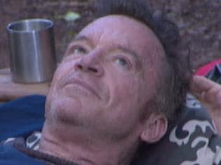 Tom Arnold I'm a Celebrity Get me Out of here. Picture: Channel 10