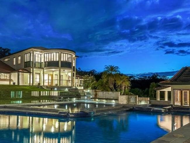 Nathan Tinkler's Brisbane home has been on and off the market since 2013. Bought in 2007 for $5.2 million, it has been advertised at $3.5 million.