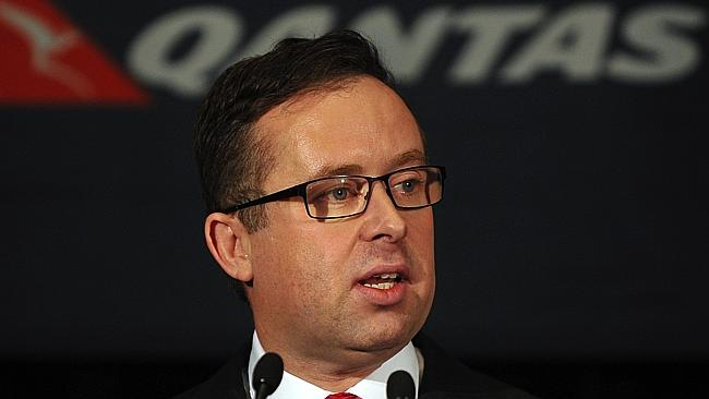Qantas Group CEO Alan Joyce has issued his group executives a reduction figure to hit.