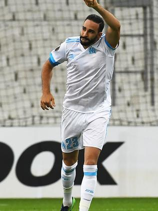 Adil Rami is dating the Hollywood icon.