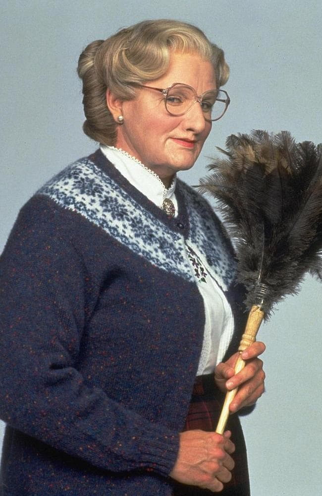 Iconic role … Robin Williams as Mrs Doubtfire.