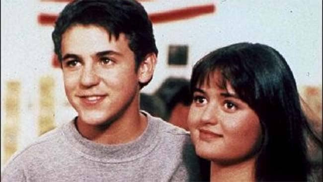 The way they were. Kevin and Winnie back in the Wonder Years.