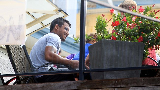 NRL Bulldogs star player Ben Barba Picture: Craig Greenhill