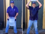 "Actor Eric Stonestreet, ""I completed my #alsicebucketchallange. I nominate the #kansasstatefootball team captains: Finney, Waters, Lockett, Truman and Mueller!""... VIEW VIDEO Picture: Instagram"