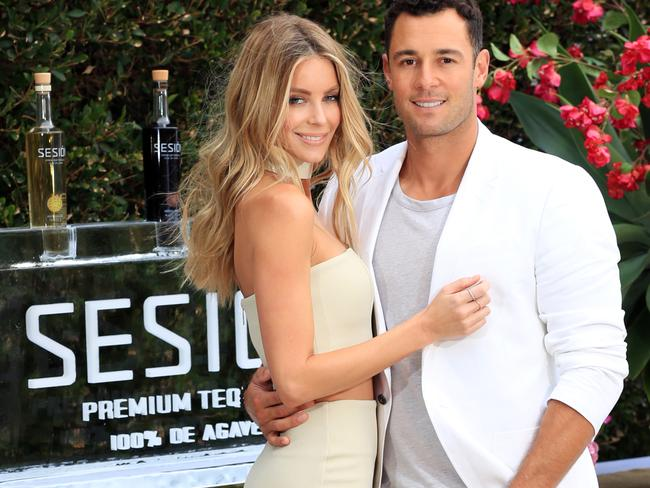 Jen Hawkins and Jake Well's Sesion tequila Official Launch held at Point Piper. Picture: Christian Gilles