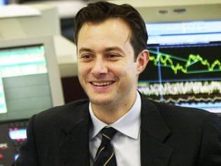 FEBRUARY, 2001 : Deutsche Bank currency trader Etienne Alexiou 02/01. Pic Mark Williams. P/
