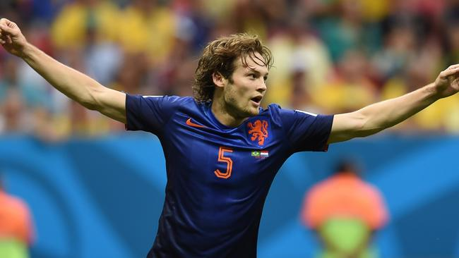 Daley Blind had an excellent game for the Dutch.