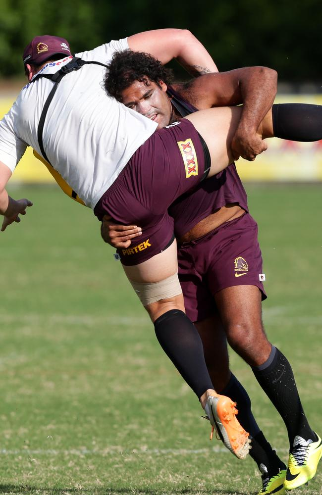 The inclusion of Thaiday would add more experience and power to the Maroons.