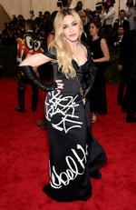 """Madonna attends the Met Gala 2015 """"China: Through The Looking Glass"""". Picture: Getty"""