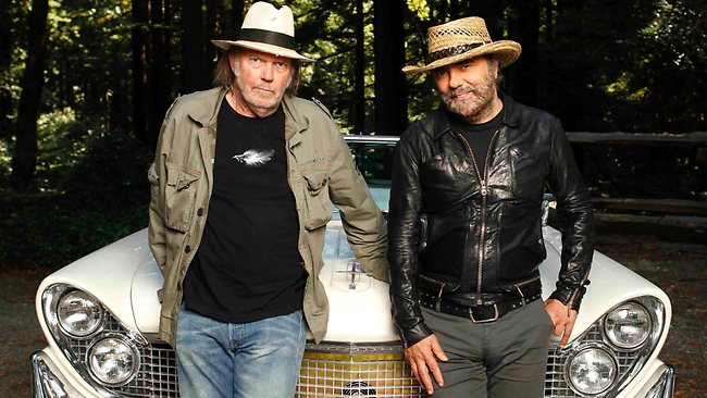 Neil Young is still speakin' out, with a new album and his ...