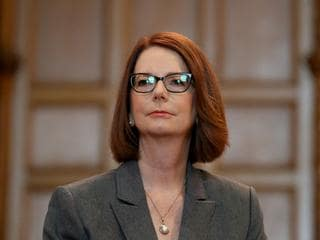 Julia Gillard this year.