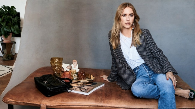 Pernille in a pair of boyfriend jeans. Photo: Supplied