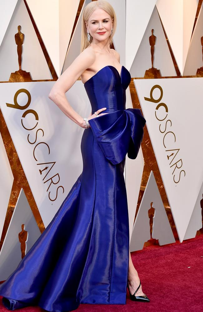 Nicole Kidman was in full Nicole Kidman-mode at the Oscars last month. Picture: Frazer Harrison/Getty Images