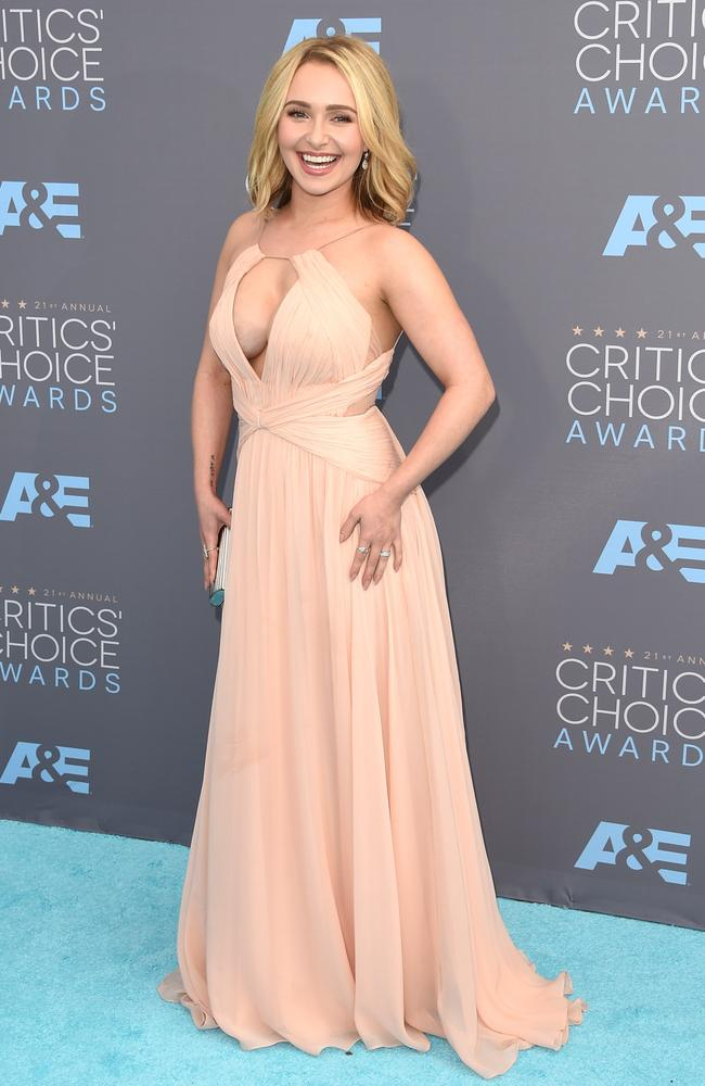 Hayden Panettiere attends the 21st Annual Critics' Choice Awards on January 17, 2016 in California. Picture: AFP