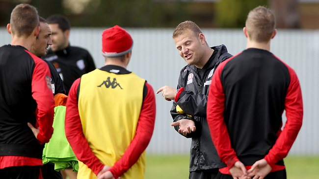 New Adelaide United coach Josep Gombau at SASI in Kidman Park