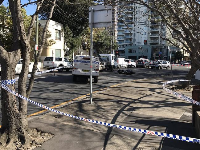 Car Accident Bondi Junction