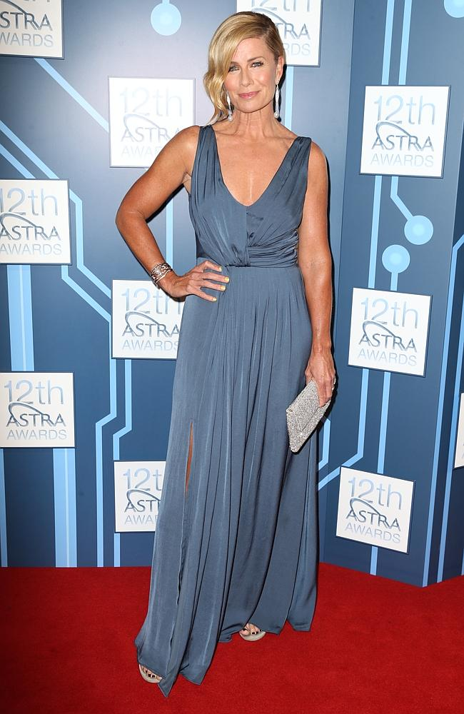 Deborah Hutton at the 2014 ASTRA Awards held at Carriageworks in Sydney. Picture: Getty Images