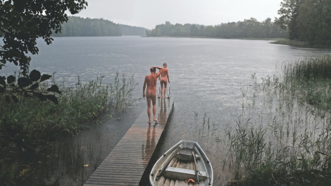 Naked sauna culture in Finland. Photo: Supplied