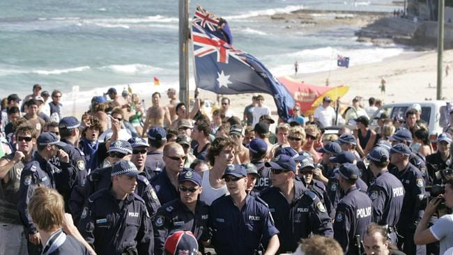 cronulla riots essay Sydney's 2005 cronulla riots marked a watershed moment in race relations between white and arabic-speaking australians in this essay, i reflect on how the riots now sit in the public imagination and explore how certain narratives on the riots have produced a series of problematic silences, disownings, and forgettings.