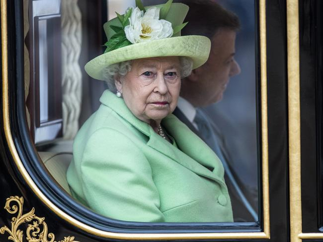 Queen Elizabeth II will have to switch rooms during the renovations. Picture: Getty